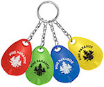 Tear Drop Mini Light Key Tags